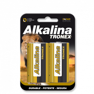 PILA ALCALINA TRONEX D BLISTER X2