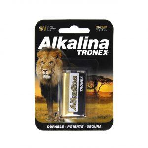 PILA ALCALINA TRONEX 9V  BLISTER X1