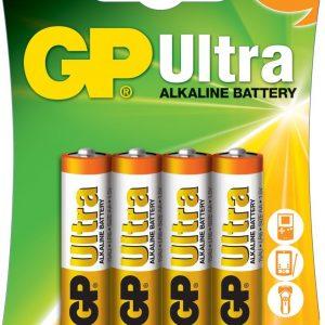 PILA ALCALINA GP ULTRA AA 1.5V BLISTER X4