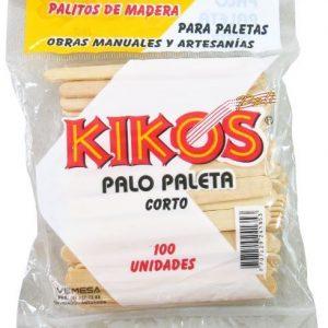 PALO PALETA CORTO BOLSA*100UND (24)(144)