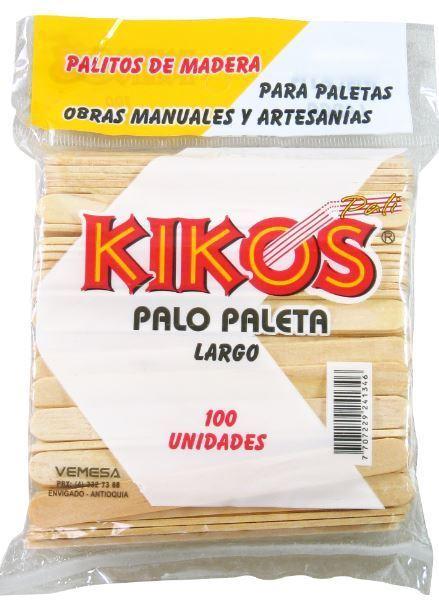PALO PALETA LARGO BOLSA*100UND (24)(120)